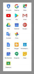 De fede google apps