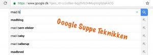 Google Suppe Teknikken